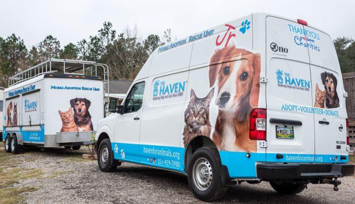 MARU and MARU, Jr. (Mobile Adoption Rescue Unit)