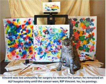 Hospice; RIP Vincent Van Gogh
