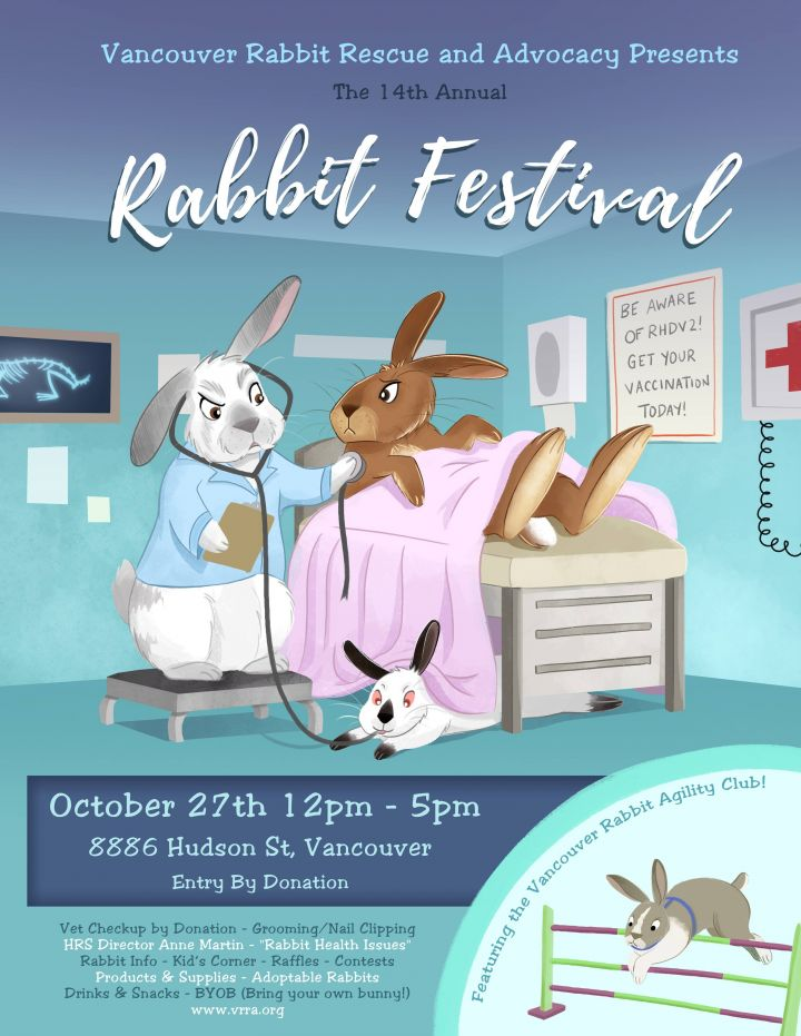 Join us at our annual Rabbit Fesitval!