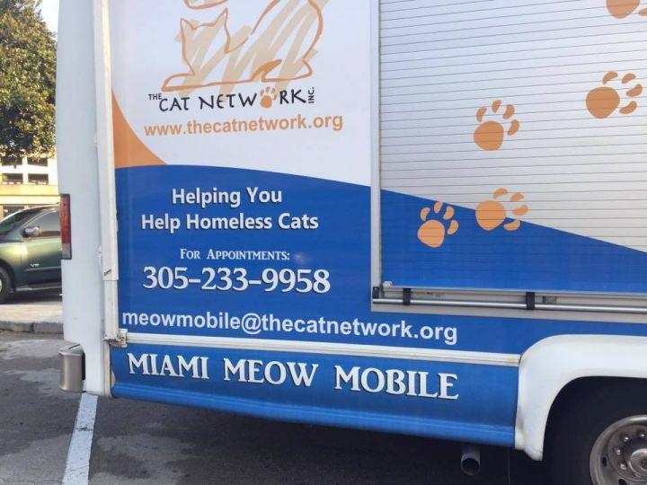 Miami Mobile Spay/Neuter Van
