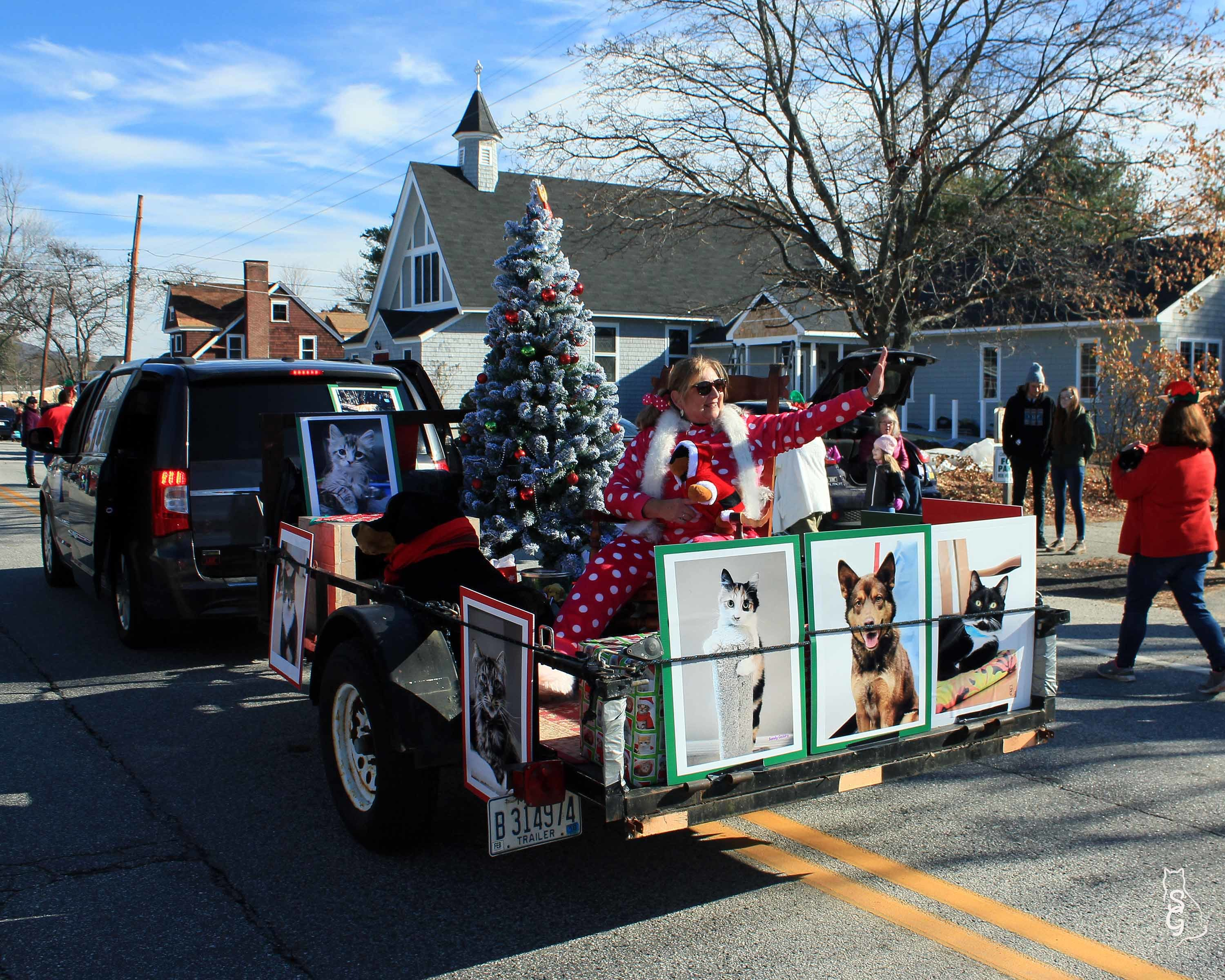 2017 Oxford Hills Christmas parade.