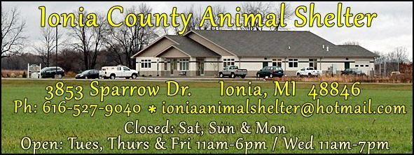 Ionia County Animal Shelter