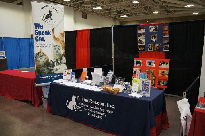 Feline Rescue Booth Pet Expo 2017