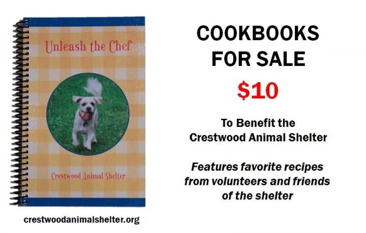 Our cookbook featuring shelter guests