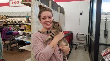 Bridget got adopted!