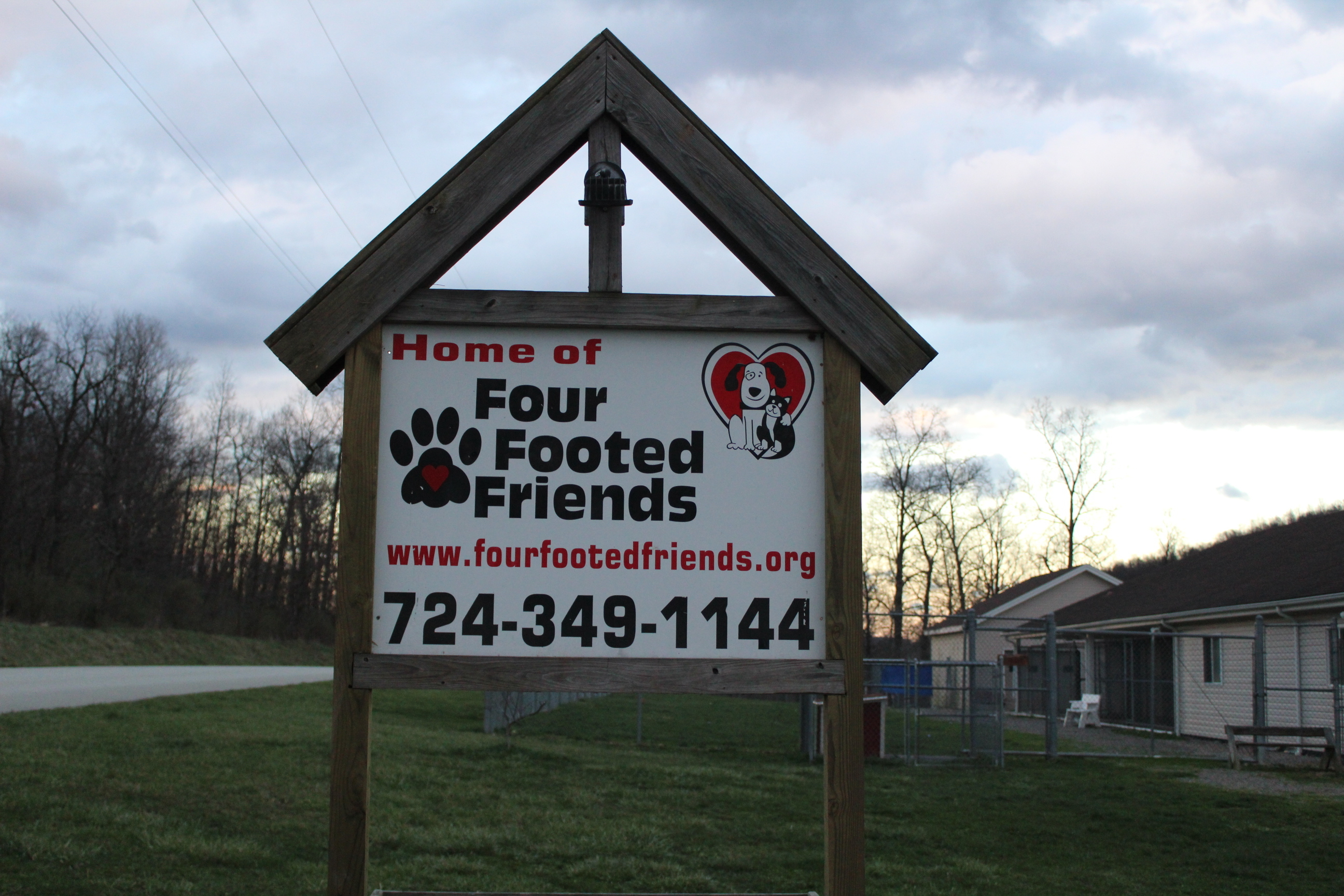 Four Footed Friends Front Entrance