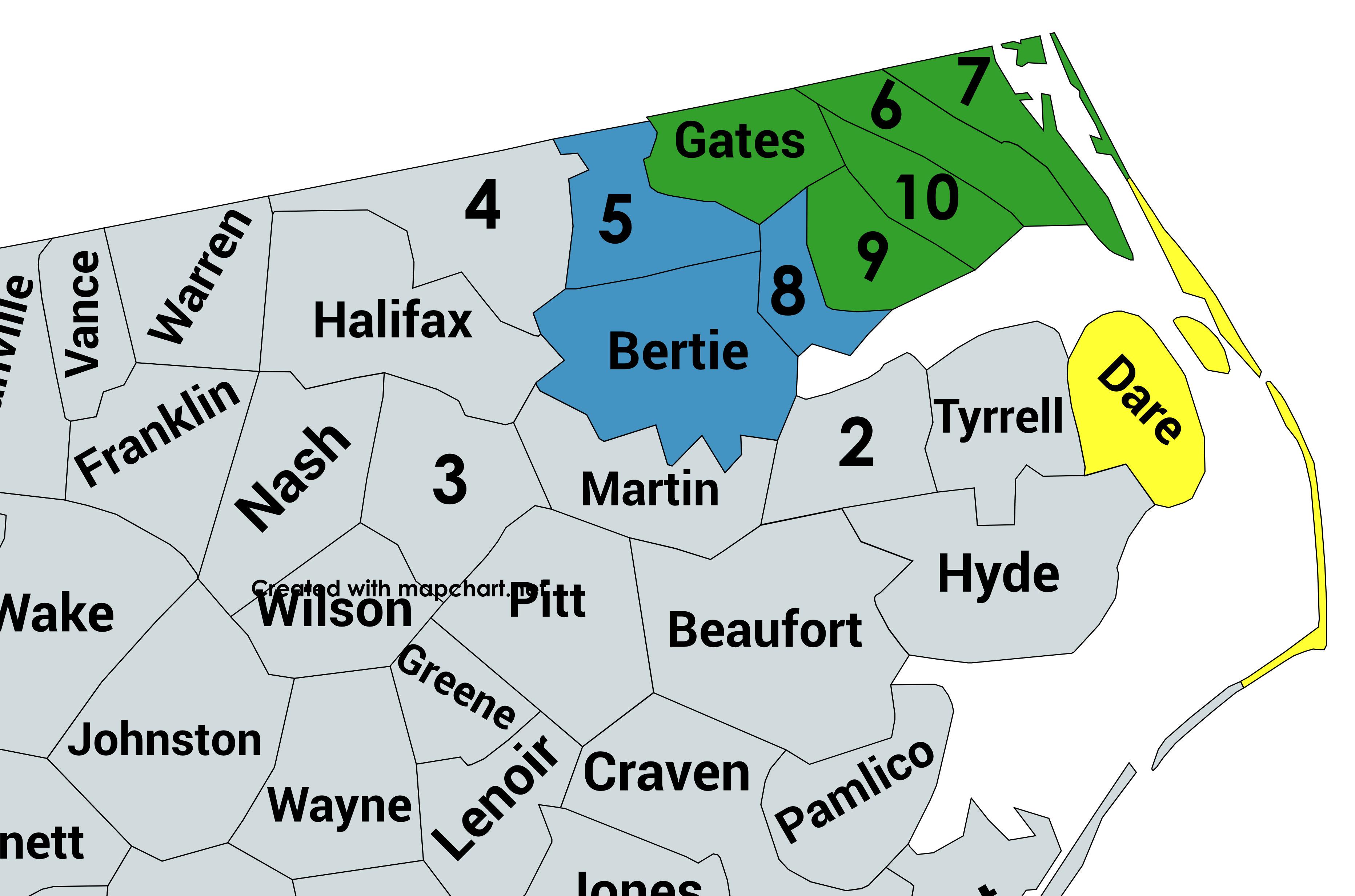 BTTR Adoption Area (NC)