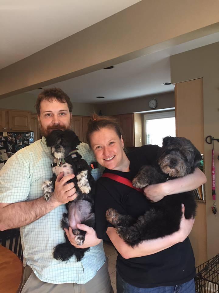 Their Second Fluffy Dog Adoption!