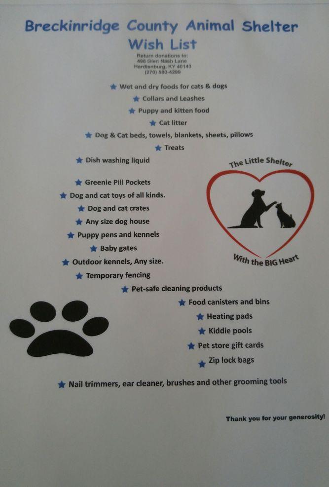 Breckinridge County Animal Shelter