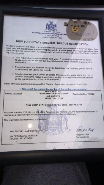 Nys dept of ag registration number