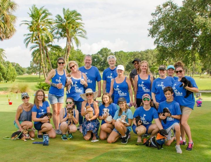 Putts for Mutts golf tournament 2018 volunteers