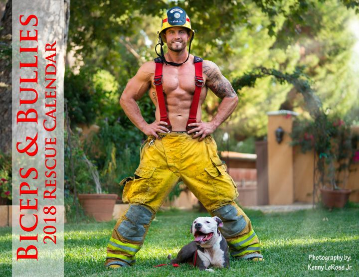 our 2018 Biceps and Bullies Rescue Calendar
