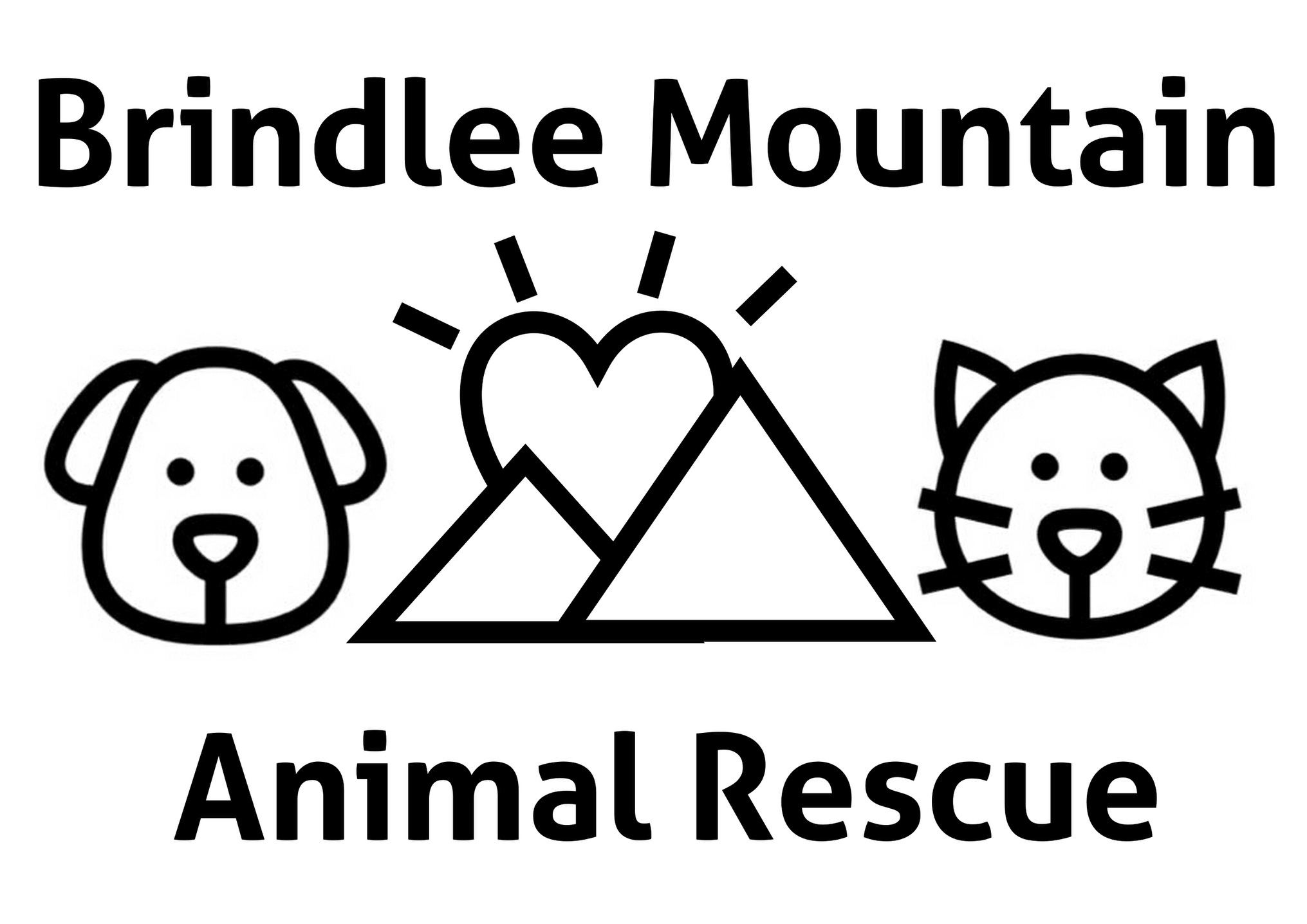 Brindlee Mountain Animal Rescue Logo
