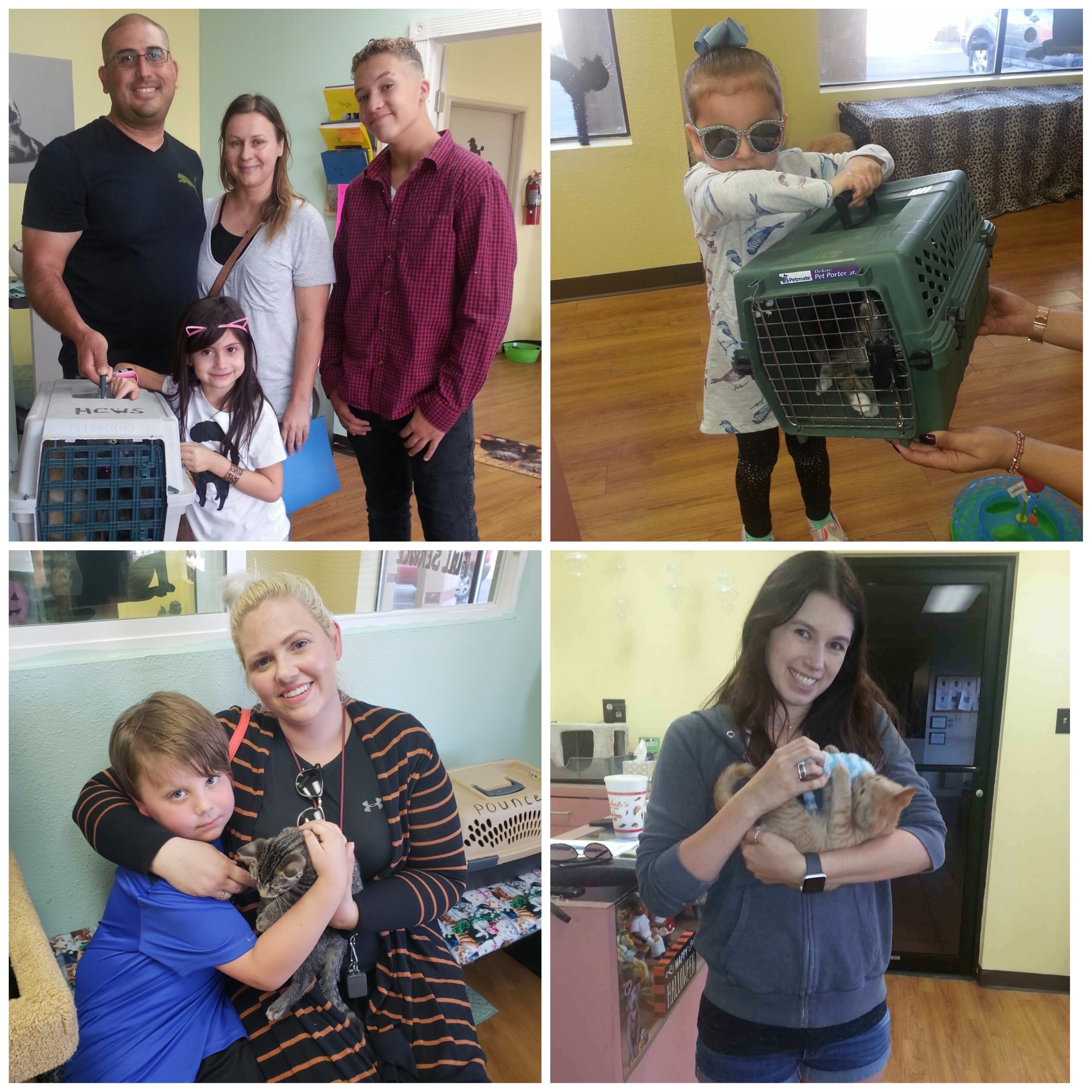 Happy adopters!
