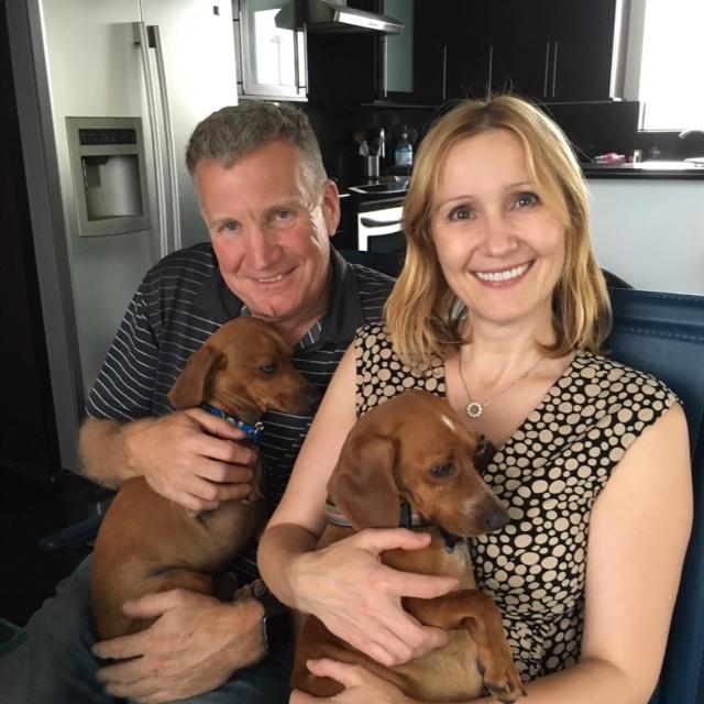 Portland Dachshund Rescue Founder's Gary & Joanna