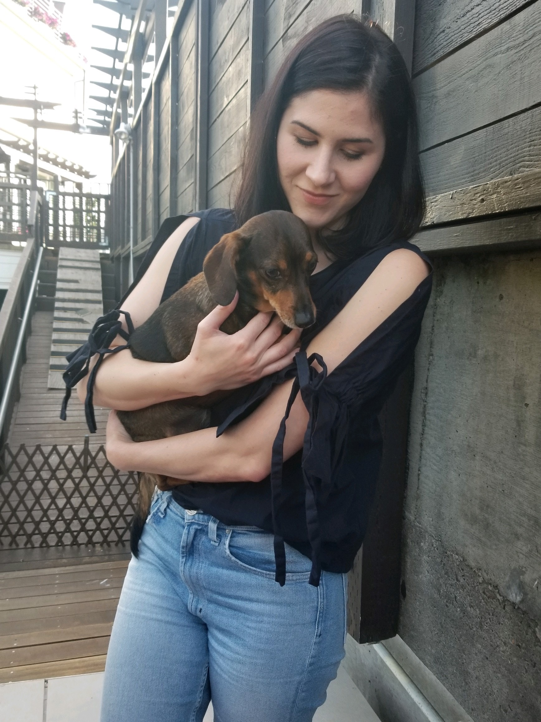 Portland Dachshund Rescue Founder April