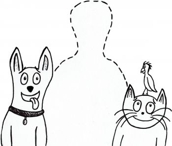 The Paw and Feather Plan Logo