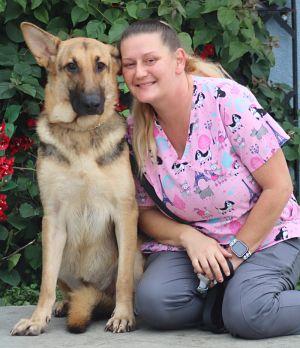 Brigitte von Bergen is a beautiful 2 year old German ShepherdBridgette is new t